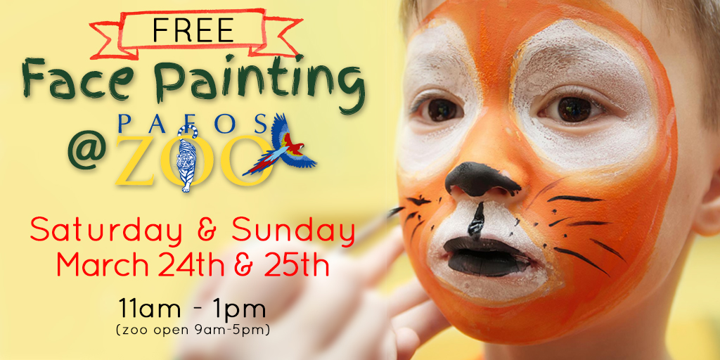 Face Painting At The Zoo | Pafos Zoo